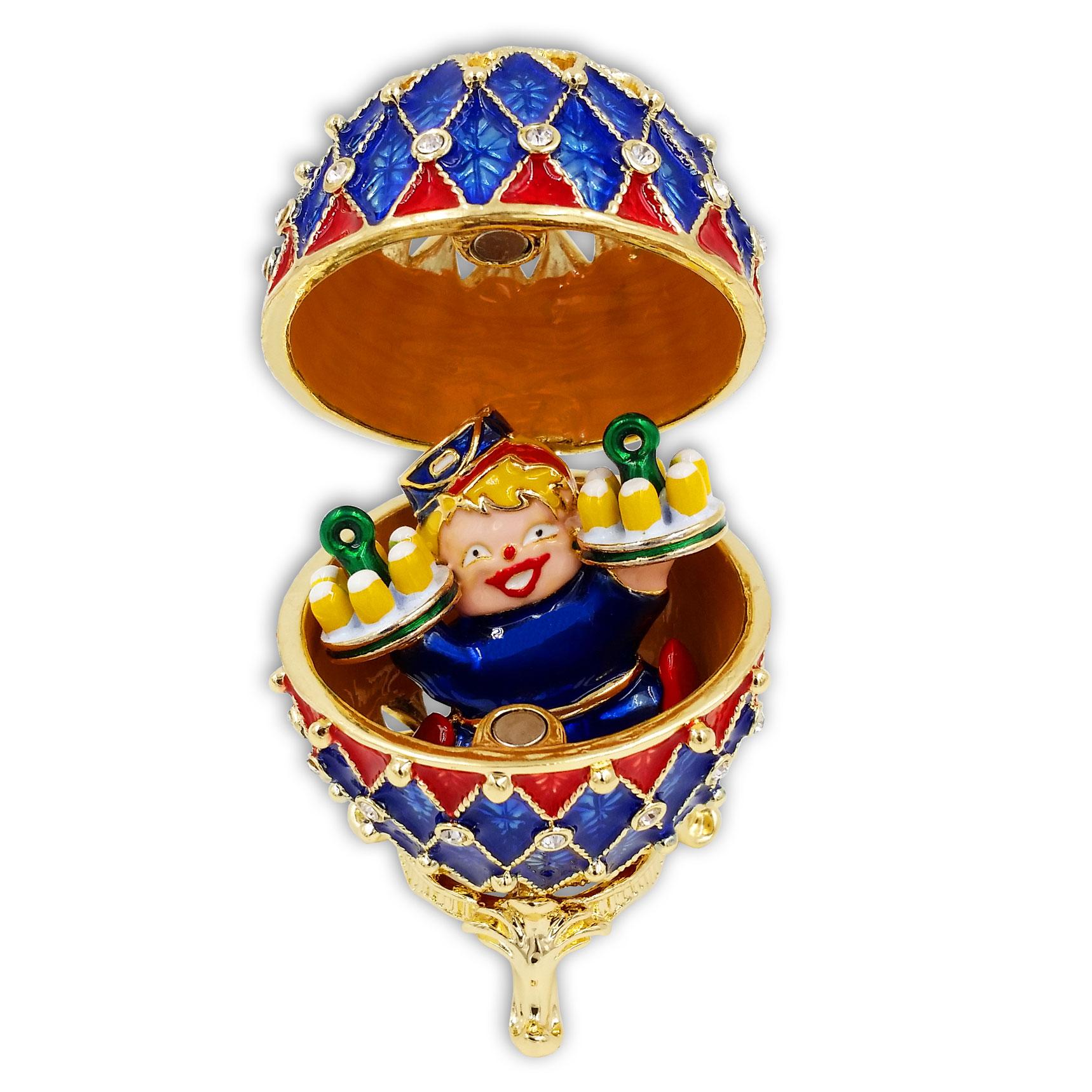 01.12.2016: Jubiläumsorden – Fabergé-Ei