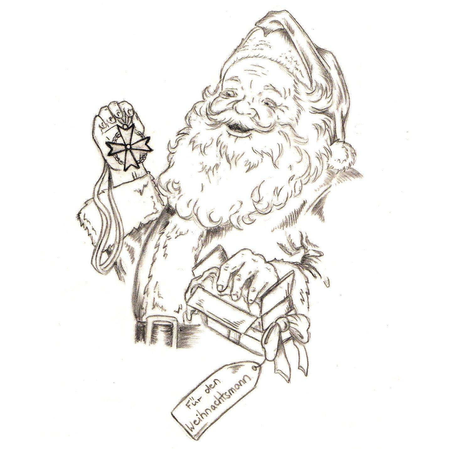 19.12.2016: Erster Orden für den Weihnachtsmann